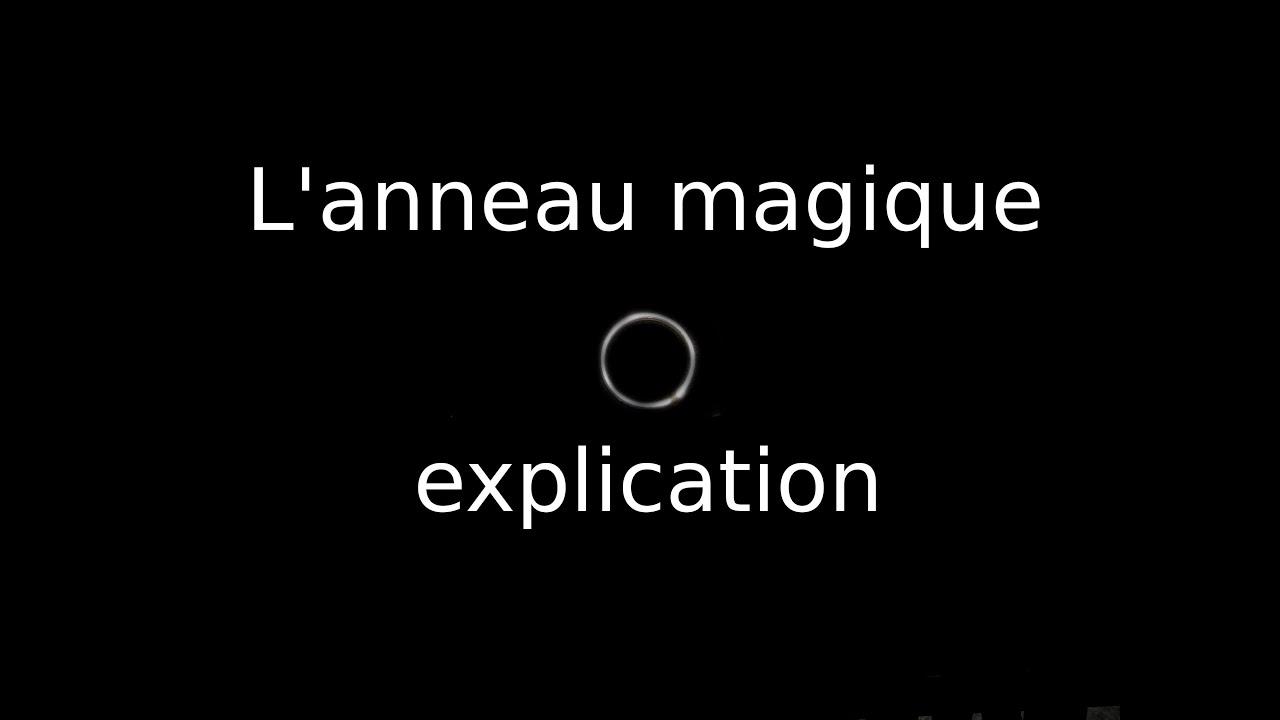 tour de magie 2 anneaux