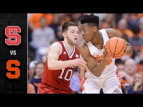 NC State vs. Syracuse Basketball Highlights (2017-18)
