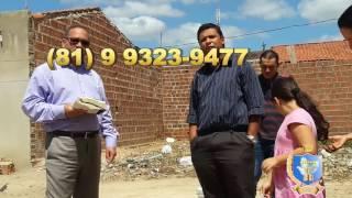 LANÇAMENTO DA PEDRA FUNDAMENTAL NO LOTEAMENTO NA  VILA SÃO DOMINGOS - SANTA CRUZ DO CAPIBARIBE