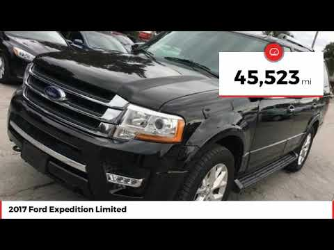 2017 Ford Expedition Limited Used HEA61604