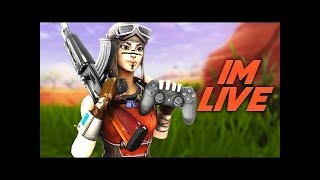Fortnite Geting wins come watch me playing with fans