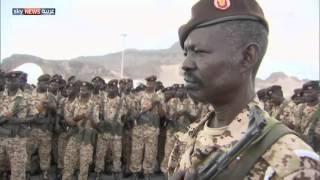 أول مشاركة برية لقوات سودانية باليمن