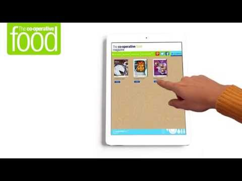 How to use The Co-operative Food digital magazine