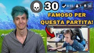 LA PARTITA CHE RESE NINJA FAMOSO A LIVELLO INTERNAZIONALE! 30 BOMBE IN SOLO VS SQUAD! Season 2