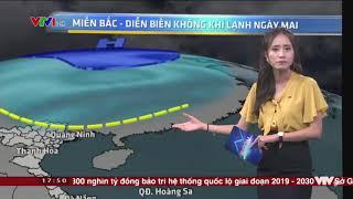 Dự Báo Thời Tiết Hôm Nay Và Ngày Mai / Miền Bắc tuần tới sẽ có mưa giông