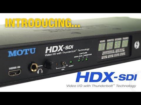 HDX-SDI Video Interface With Thunderbolt™ Technology
