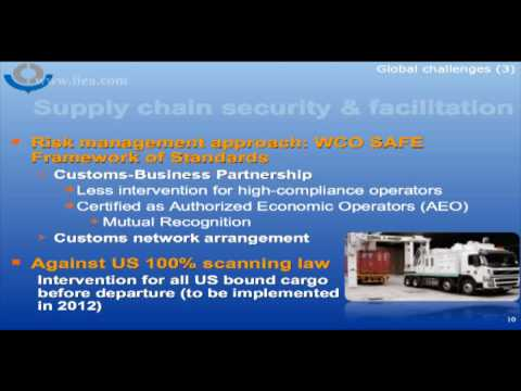 Kunio Mikuriya on the World Customs Organization