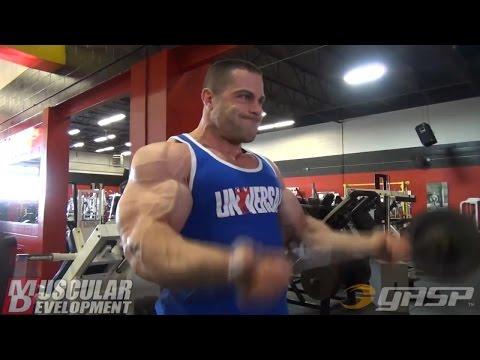Evan Centopani Shoulders & Arms Workout