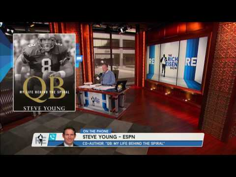 """Hall Of Famer Steve Young on His Book """"QB: My Live Behind The Spiral"""" - 10/14/16"""