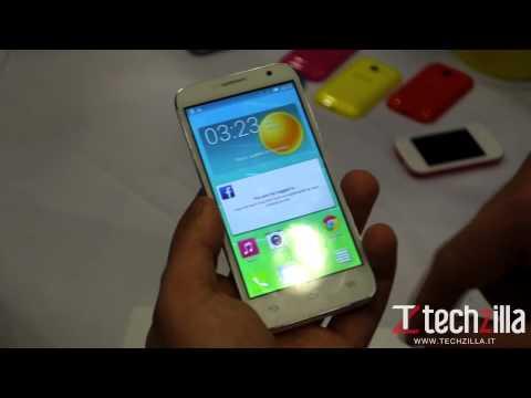 Alcatel One Touch Idol 2 Mini S videoanteprima da Techzilla.it | MWC 2014