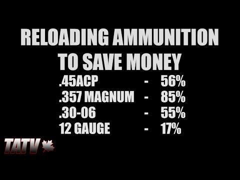 Reloading Ammunition To Save Money
