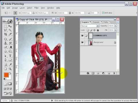 7iun Huong Dan Photoshop CS3 - Cach Tao Bo Vien 27/39