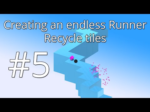 5. Unity 5 tutorial: Simple Endless Runner - Recycle tiles