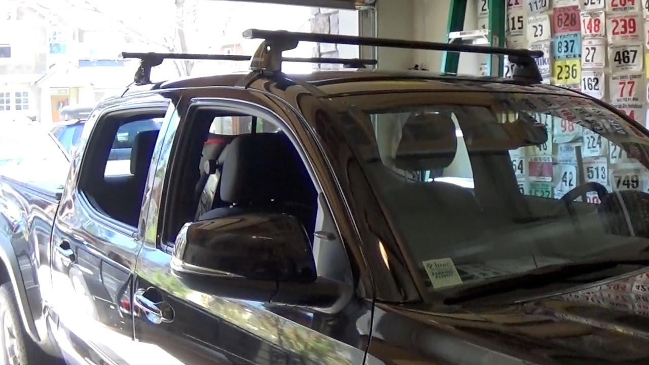 toyota tacoma roof rack installation
