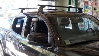 Toyota Tacoma Roof Rack Installation