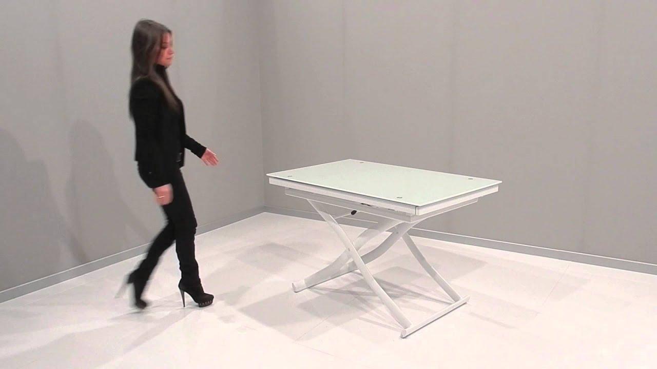 Tavoli Pieghevoli Allungabili Ikea.Tavoli Dione Plus Youtube