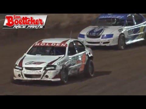 Modified Sedans - Kings Royal IV - A-Dash - Kingaroy Speedway - 24.01.16