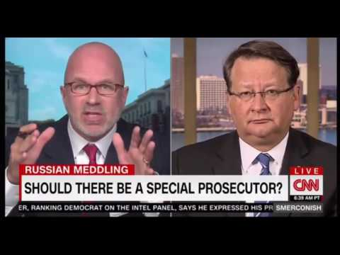 Senator Gary Peters D Makes the argument for a Special Prosecutor on Smerconish