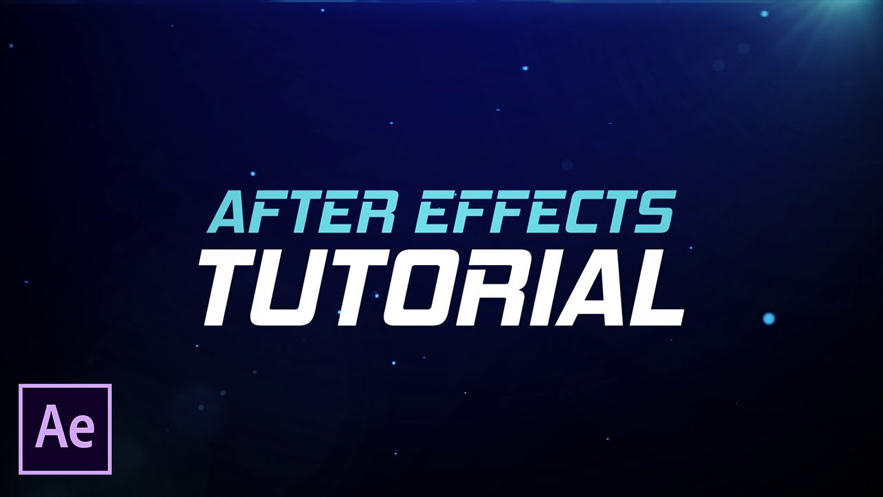 Cinematic Title Animation Tutorial - After Effects CC 2017