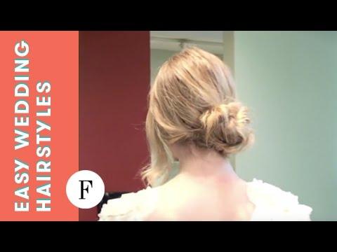 Easy Wedding Hairstyles 3 Easy Elegant Looks Youtube
