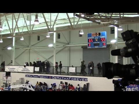 DeMatha JV Basketball vs Paul VI