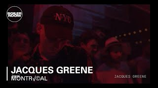 Jacques Greene Boiler Room Montréal Live Set