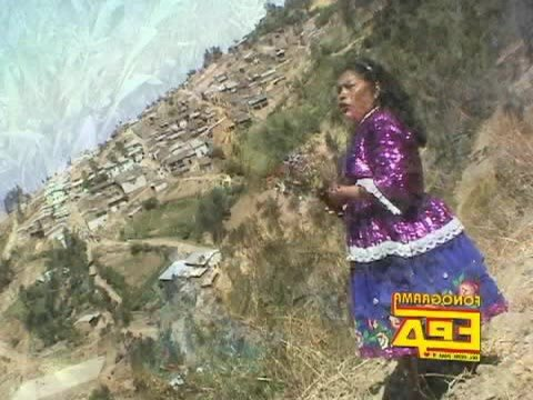 Tema: PUEBLO DE HUANCHAY por Felicita Figueroa G.