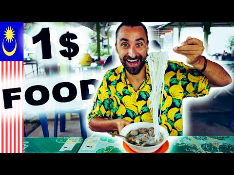 Living on 5RM $1 Meals in Langkawi Malaysia