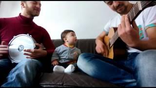 Çocuk Şarkısı - Kırmızı Balık (Kırmızı balık gölde) gitar/darbuka