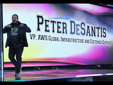 AWS re:Invent 2019 - Monday Night Live with Peter DeSantis