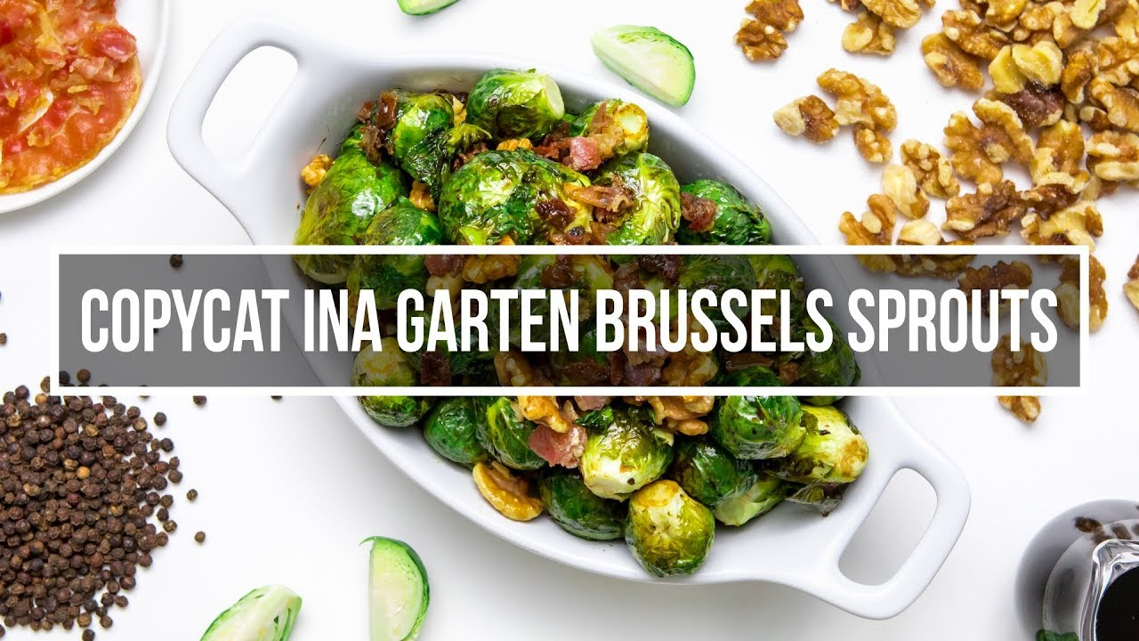 Copycat Ina Garten Brussels Sprouts With Balsamic Vinegar