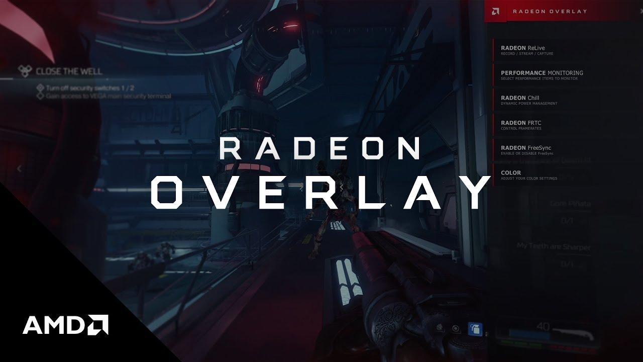 AMD Radeon™ Overlay | AMD