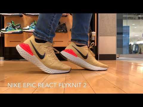 29166cb21e73cf Nike Epic React Flyknit 2 - YouTube