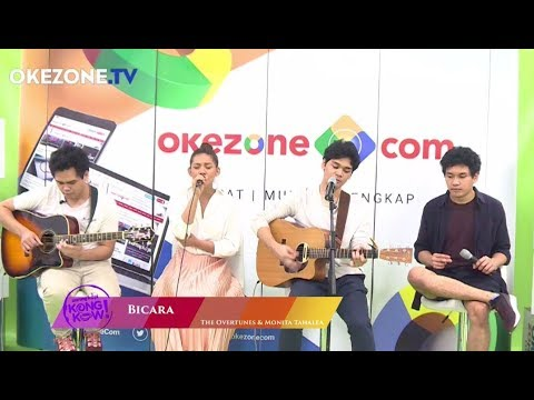 The Overtunes Ft. Monita Tahalea - Bicara | Kongkow Okezone (5/5)
