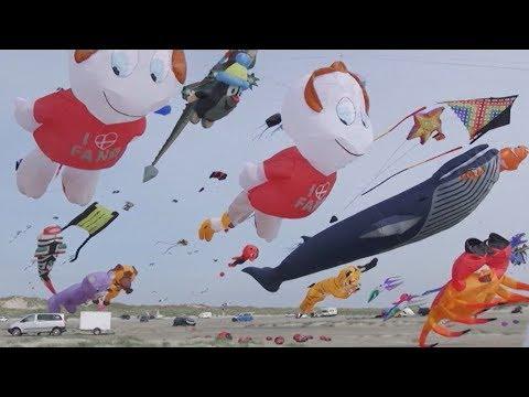 Verdens største dragefestival indtager Fanø