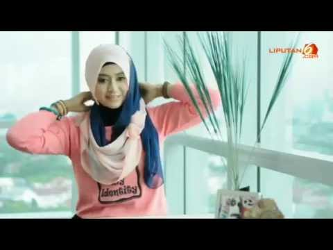 Video Tutorial Hijab Natasha Farani - Cara Memakai Jilbab ...