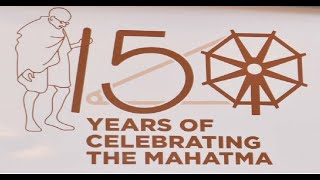 "Celebrating the birth anniversary of ""Father of the Nation"" Mahatma Gandhi 