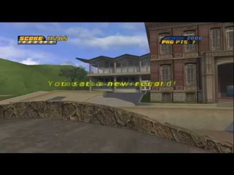 Tony Hawk's Pro Skater 4 Walkthrough with Commentary Part 1 - College Dropout
