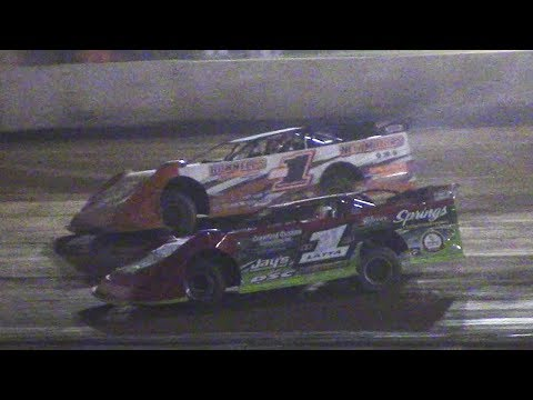ULMS Super Late Model B-Main Two | Eriez Speedway | 9-23-17