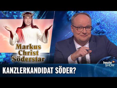 Söder-Hype: Wird Deutschlands nächster Kanzler ein Bayer?   heute-show vom 29.11.2019