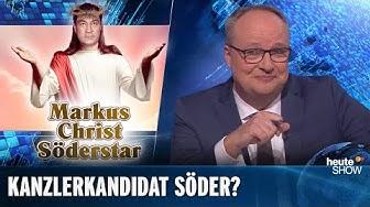 Söder-Hype: Wird Deutschlands nächster Kanzler ein Bayer? | heute-show vom 29.11.2019