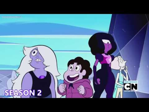 how steven universe's voice changes over the course of the series
