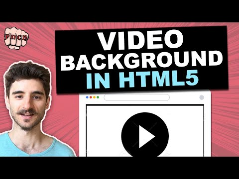 Add Video Background In HTML (Just Copy HTML & CSS Code)