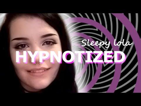 Sleepy Lola HYPNOTIZED - Eye Rolls!