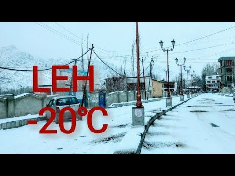 Leh Ladakh In Winter  january 2019
