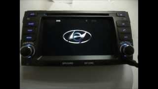 Android Auto DVD Player for Hyundai Sonata 2009 2010 GPS Navigation Wifi 3G Radio Bluetooth