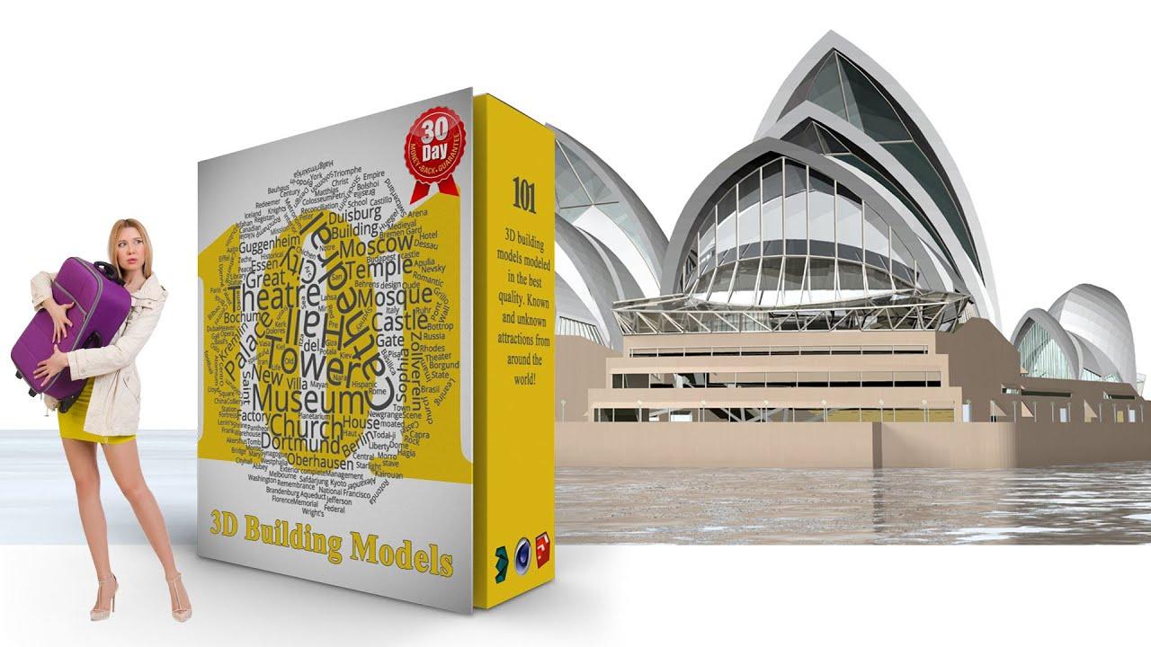 3d model of sydney opera house