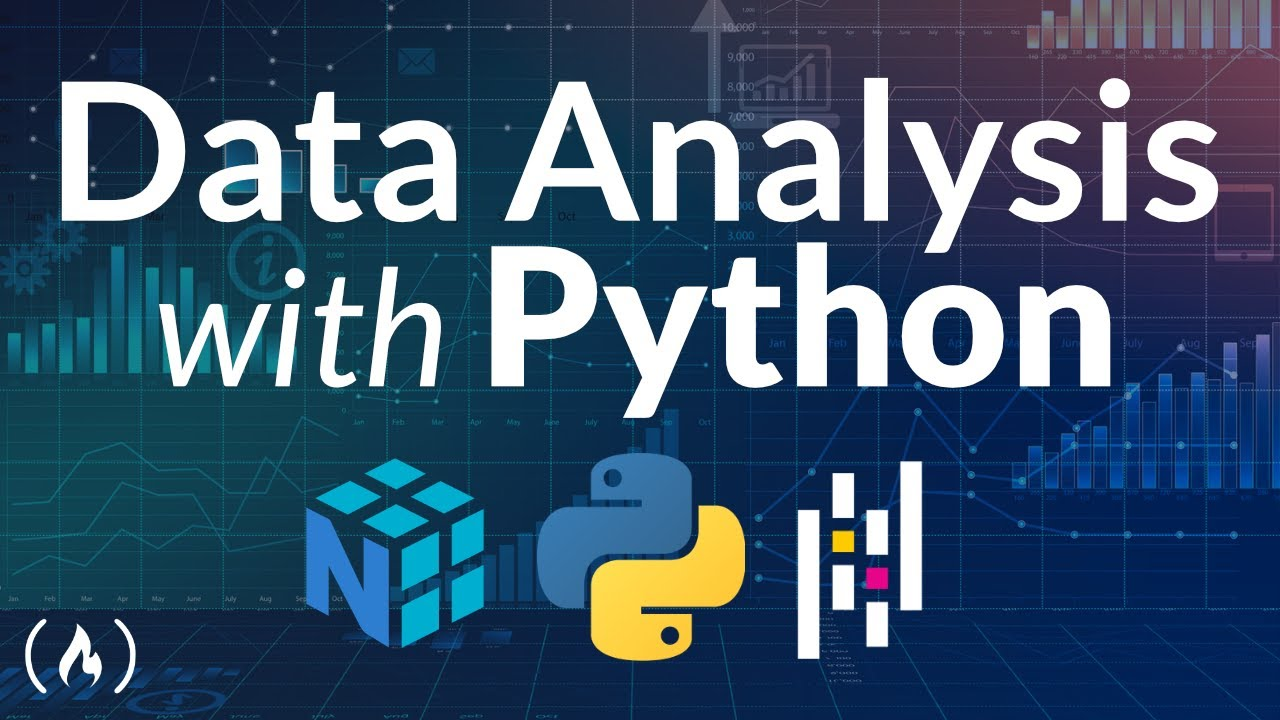 Data Analysis with Python Course - Numpy, Pandas, Data Visualization
