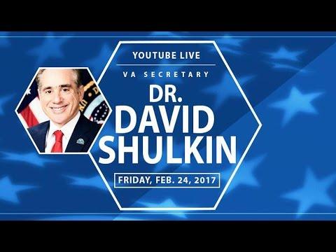 YouTube Live with Secretary Shulkin