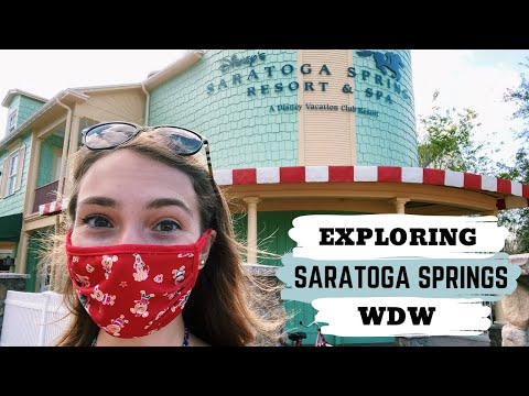 DISNEY'S SARATOGA SPRINGS RESORT // A Perfect Day Exploring Saratoga Springs Disney World